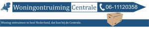 Woningontruimingcentrale logo 2 kleuren